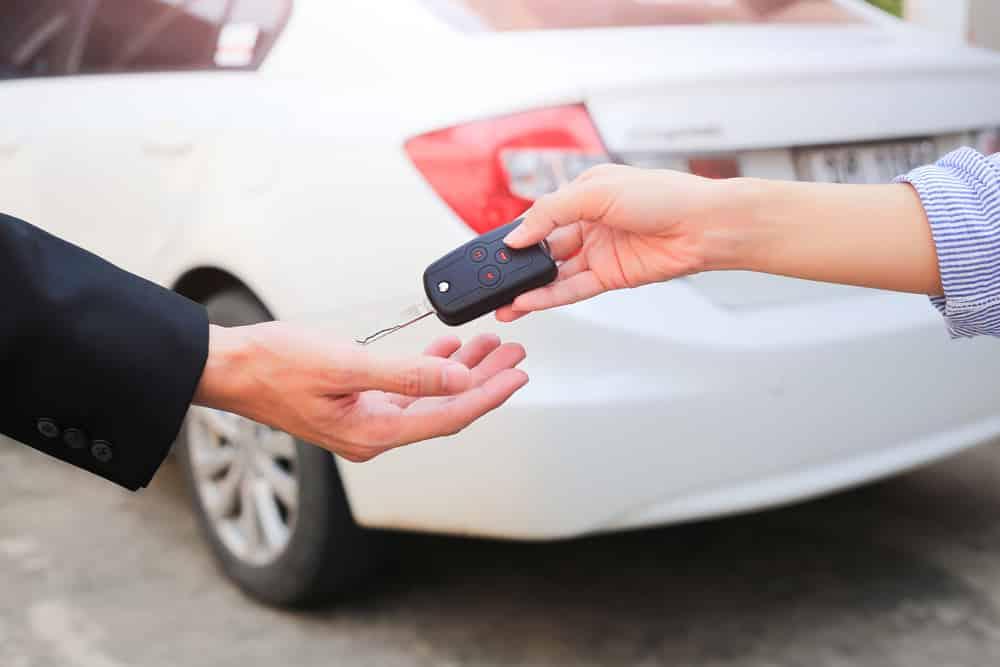 La vente de voiture d'occasion